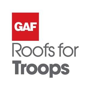 GAF Roof for Troops